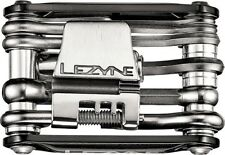 Lezyne RAP 15 Co2 Multi Tool 15 Function Aluminum Black Sides
