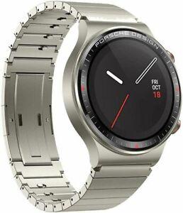 Huawei Watch GT 2 PORSCHE DESIGN Smartwatch Titanium Gold Saphir GPS NEU OVP