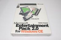 Microsoft Entertainment Pack 2.0 for Windows CE CDROM - 1998 - SEALED/NEW