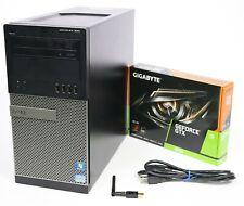 Gaming PC Quad Core GTX 1050 1650 1660 i5 or i7 240GB - 1TB SSD 8GB 16GB or 32GB