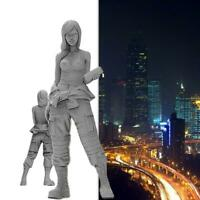 1/35 1/20 1/24 Beautiful Girl Soldier Series Resin Unpainted Model DIY T5I3 R9M8