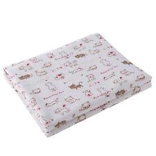 50cmx150cm DIY Fabric Cat Printed Bedding Sewing Craft Linen Cotton Material