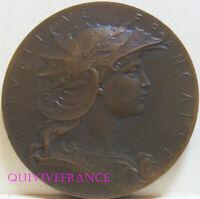 MED10981 - MEDAILLE CONCOURS GYMNASTIQUE MINISTERE DE LA GUERRE par HENRI DUPRE