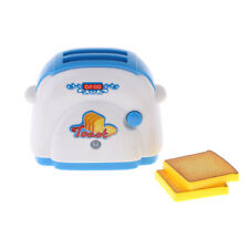Simulation Pretend Toy Mini Home Appliances Model Toy for Kids Bread Machine