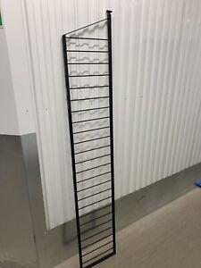 Black Ladderax Tall Deep Lean To Ladder 200cm 2m x 35cm - Can Deliver (26B)