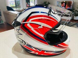 Arai Vector 2 Helmet XS - Broc Parkes
