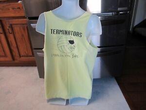 Terminators Hasta La Vista Baby Volleyball Club vintage 1980's tank top t shirt