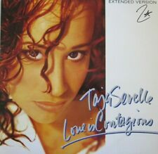 """TAJA SEVELLE - LOVE IN CONTAGIOUS - 12"""" EXTENDED VERSION - 45 RPM"""