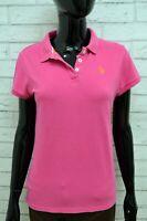Polo Maglia Donna Maglietta U.S POLO ASSN Taglia S Camicia Shirt Manica Corta