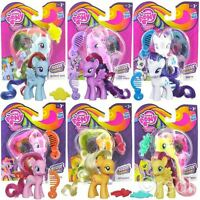 New My Little Pony Rainbow Power Applejack, Pinkie Pie & Rarity Figures Official