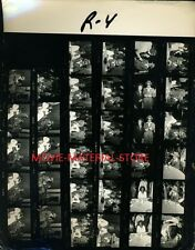 """Tina Turner Elton John Original 8x10"""" Contact Sheet Photo #L1715"""
