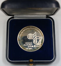 1985 40th Anniversary Of The Victory Over Nazi Germany Silver State Medal