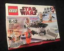 Star Wars Rebel Trooper Battle Pack by LEGO No. 8083- New Original Box- Unopened