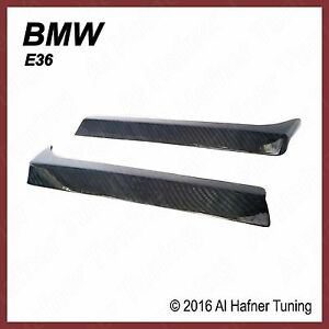 BMW 318i, 325i, 328i M3 e36 Carbon head light trims