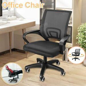 Mesh Office Chair Computer PC Desk Chair 360° Swivel Adjustable Lift Ergonomic