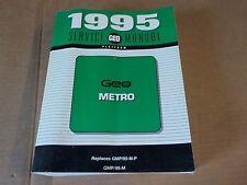 1995 Geo Metro Genuine OEM GMP/95-M-P Shop Service Manual DS311