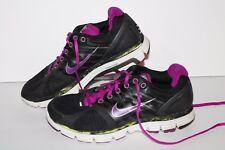 Nike Lunarglide 2 + Running Shoes, #407647-001, Black/Purple, Womens US 8.5