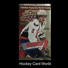 (HCW) 2009-10 Upper Deck Series 2 Hockey Retail Pack - Holtby, Marchand YG ++