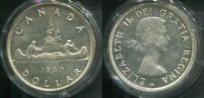 KANADA CANADA 1960 - 1 Dollar in 800 Silber (23,3g), vz - INDIANER KANU