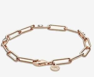 New UK Genuine Rose Gold Pandora Link s925 bracelet 589177C01