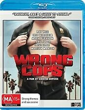 WRONG COPS BLU RAY - NEW & SEALED RAY WISE, MARILYN MANSON COMEDY FREE POST