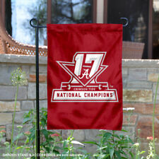 Alabama Crimson Tide 2017 2018 National Champions Garden Flag and Yard Banner