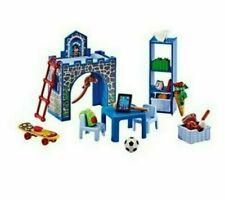 Playmobil Kinderzimmer 6556 Neu & OVP Jungenzimmer Möbel Bett