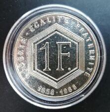 1 Franc De GAULLE 1988 - sans les différents - SUP