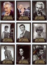 Dr Doctor Who Big Screen Additions Full 9 Card Gold Inked Chase Set of Cards