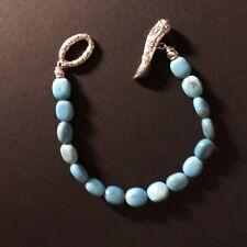 JAI John Hardy Turquoise Sterling Silver Toggle Bracelet
