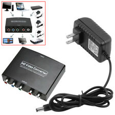 Black  HDMI to 5RCA RGB Component YPbPr Video +R/L Audio Adapter Converter