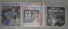 Golden State Warriors 6/17/2015 16 2017 EXAMINER NEWSPAPER Dream season,73,Redem