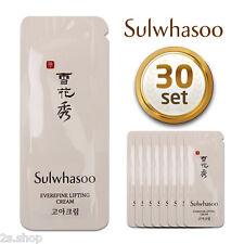 [Sulwhasoo] New Goa Everefine Lifting Cream  1ml× 30pcs Korea Cosmetics