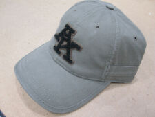 "A. KURTZ Varsity Baseball Cap Cotton Adjustable Snap D-Ring Back ""Military"""