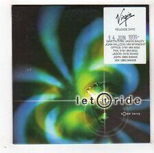 (FY477) Todd Terry, Let It Ride - 1999 DJ CD