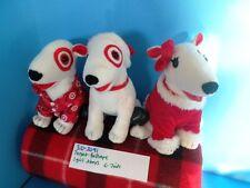 Target Three( one girl ,two boys) Bullseye plush(310-2091)