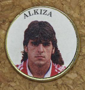 Pin Alkiza Player Athletic Club Of Bilbao. Years 90