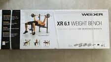 Weider XR 6.1 Multi-Position Weight Bench with Leg Developer and Exercise
