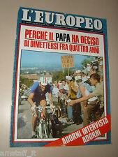 EUROPEO=1968/37=VITTORIO ADORNI CAMPIONE DEL MONDO CICLISMO IMOLA=