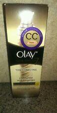 HTF Olay® CC Cream Total Effects 7 Tone Correcting Moisturizer Light to Medium