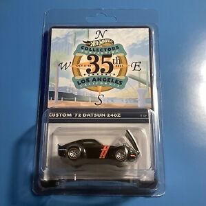 HOT WHEELS 35TH COLLECTORS CONVENTION SUPER NOVA 240Z DRAG BUS OR 40 FORD COUPE