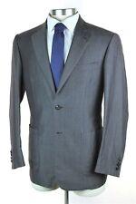 NWT $6295 BRIONI Toscana Solid Grey Linen Wool Lt. Weight 2Btn Suit 50 EU 40R US