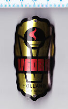 Vtg VEDRA headbadge head badge bicycle cycling bike plate Fahrrad