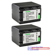 Kastar Replacement Battery Pack for Panasonic VW-VBK360 & SDR-S70P SDR-S70PC