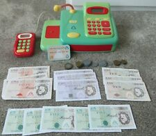 Early Learning Centre Cash Register Till with Toy Credit Card and Money