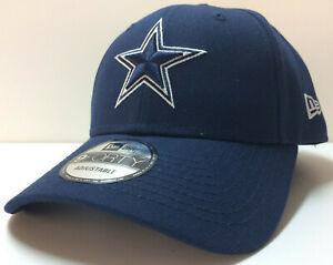 2021 Dallas Cowboys New Era NFL 9FORTY Adjustable Strapback Hat Cap Navy