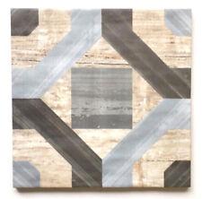 "8"" x 8"" Cordoba Geometric Pattern Made in Spain Ceramic Floor Wall Tile"