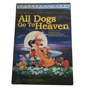 All Dogs Go To Heaven (DVD, 2004) Region 4 TRACKED POST