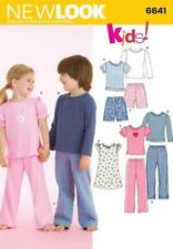 Child Unisex Pants Sewing Patterns