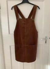 ad7abc8ded3d Zara Toffe Corduroy Pinafore Dress With Front Pockets Size S